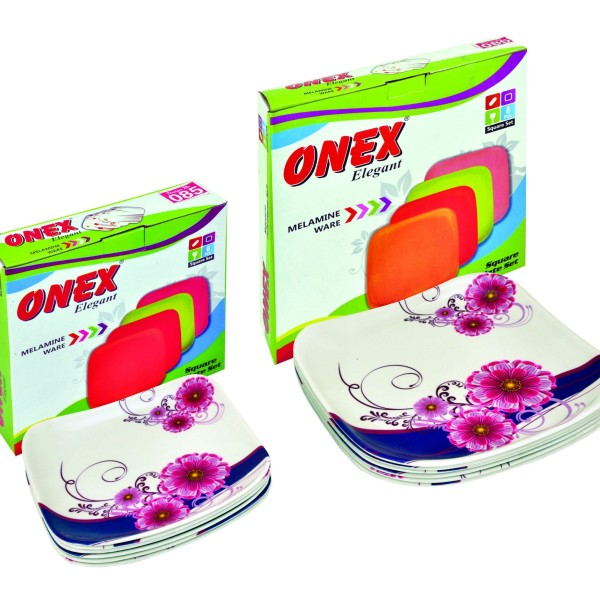 Onex Elegant Sq Six pcs Set