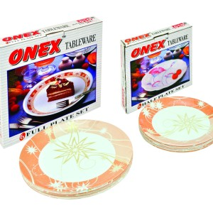 Onex Round Six pcs Set
